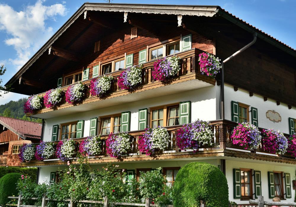 Ferienwohnungen im Gästehaus Woferllehen - Urlaub auf dem Bauernhof in Oberau bei Berchtesgaden